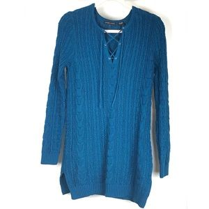 Jeanne Pierre Women Cable Knit Sweater Size Small
